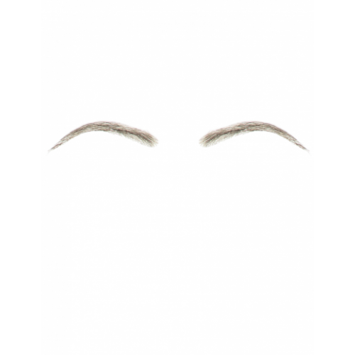 Dimples Human Hair False Smooth Arch Eyebrows Style 15