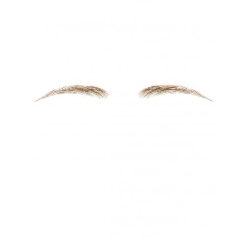 Dimples Human Hair False Eyebrows Style 10