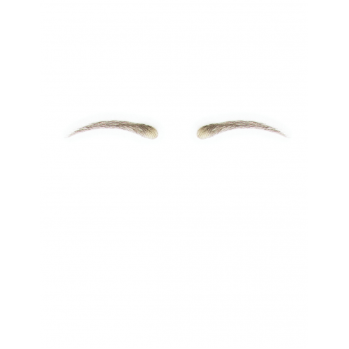 Dimples Human Hair False Eyebrows Style 12
